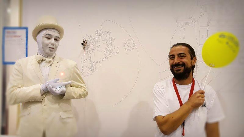 Gli artisti del Fab Lab alla Maker Faire di Roma