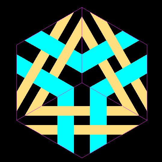 Cubo 2D ARTE Giobbi
