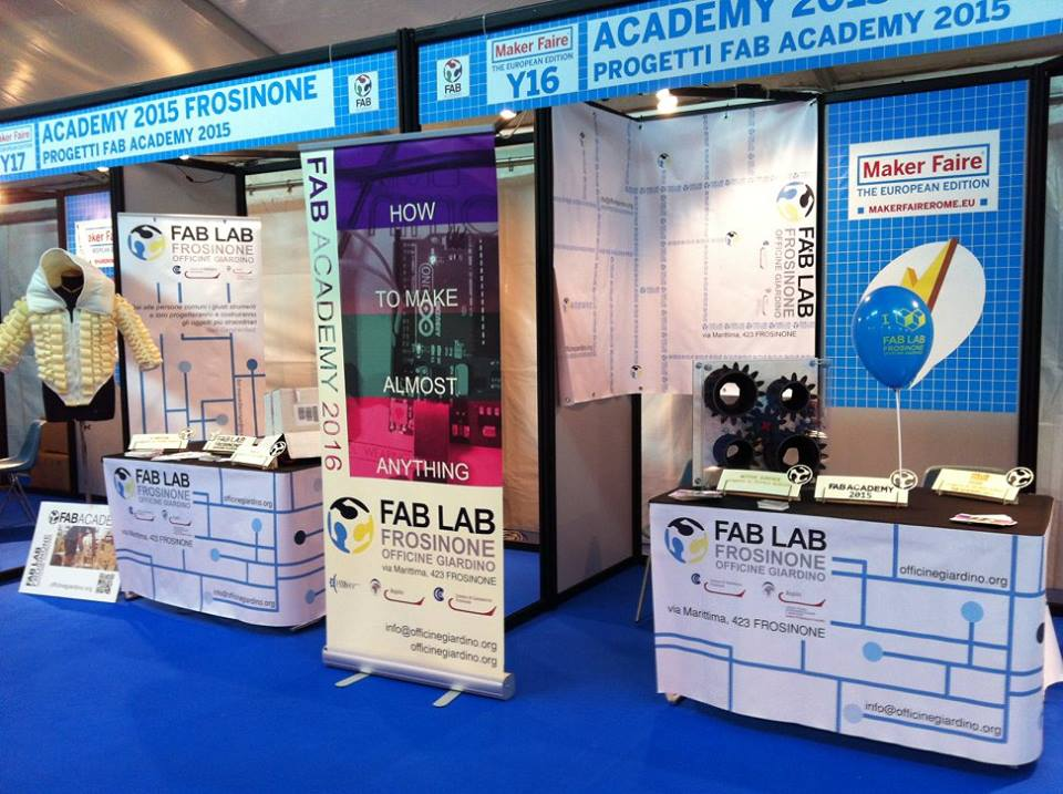 Il Fab-Lab di Frosinone al Maker Faire