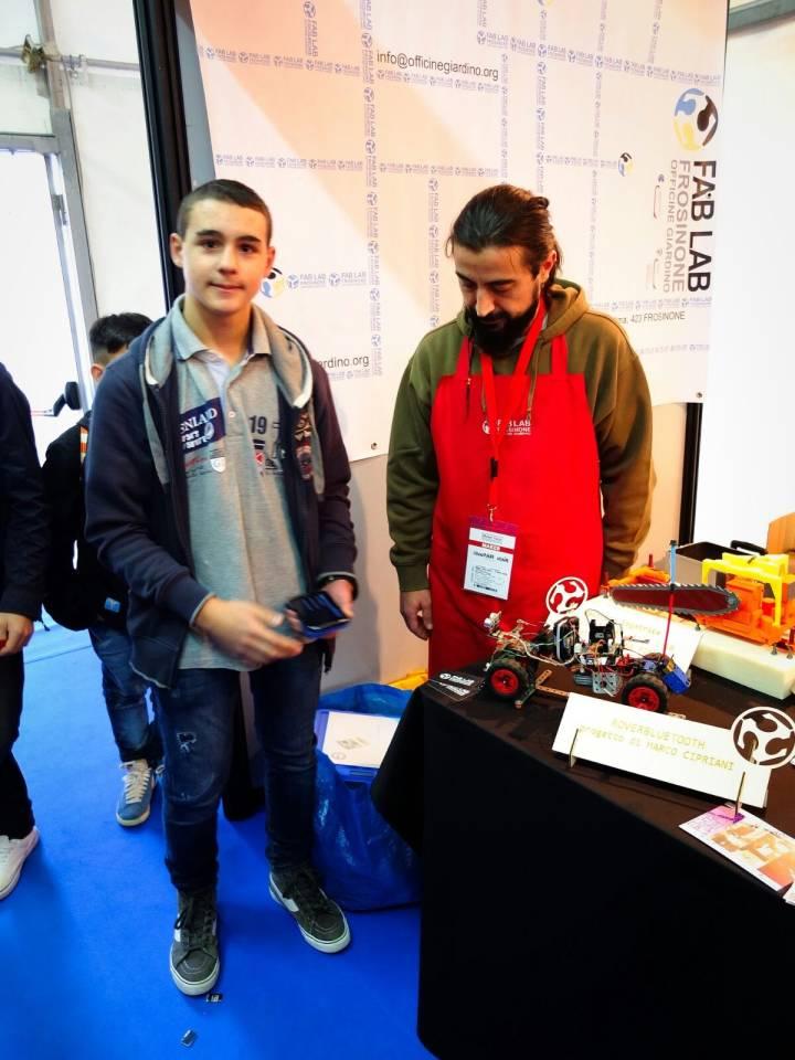 Maker Faire, protagonista progetto di uno studente di Zagarolo